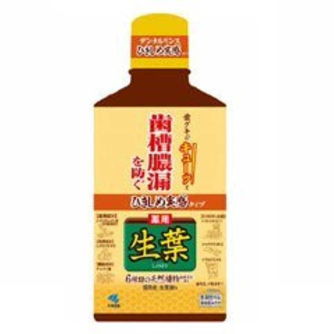 【小林製薬】生葉 ひきしめ生葉液 330ml
