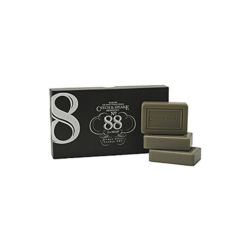 スラム持つ発行するチェコ&スピーク.88ソープセット x2 - Czech & Speake No.88 Soap Set (Pack of 2) [並行輸入品]