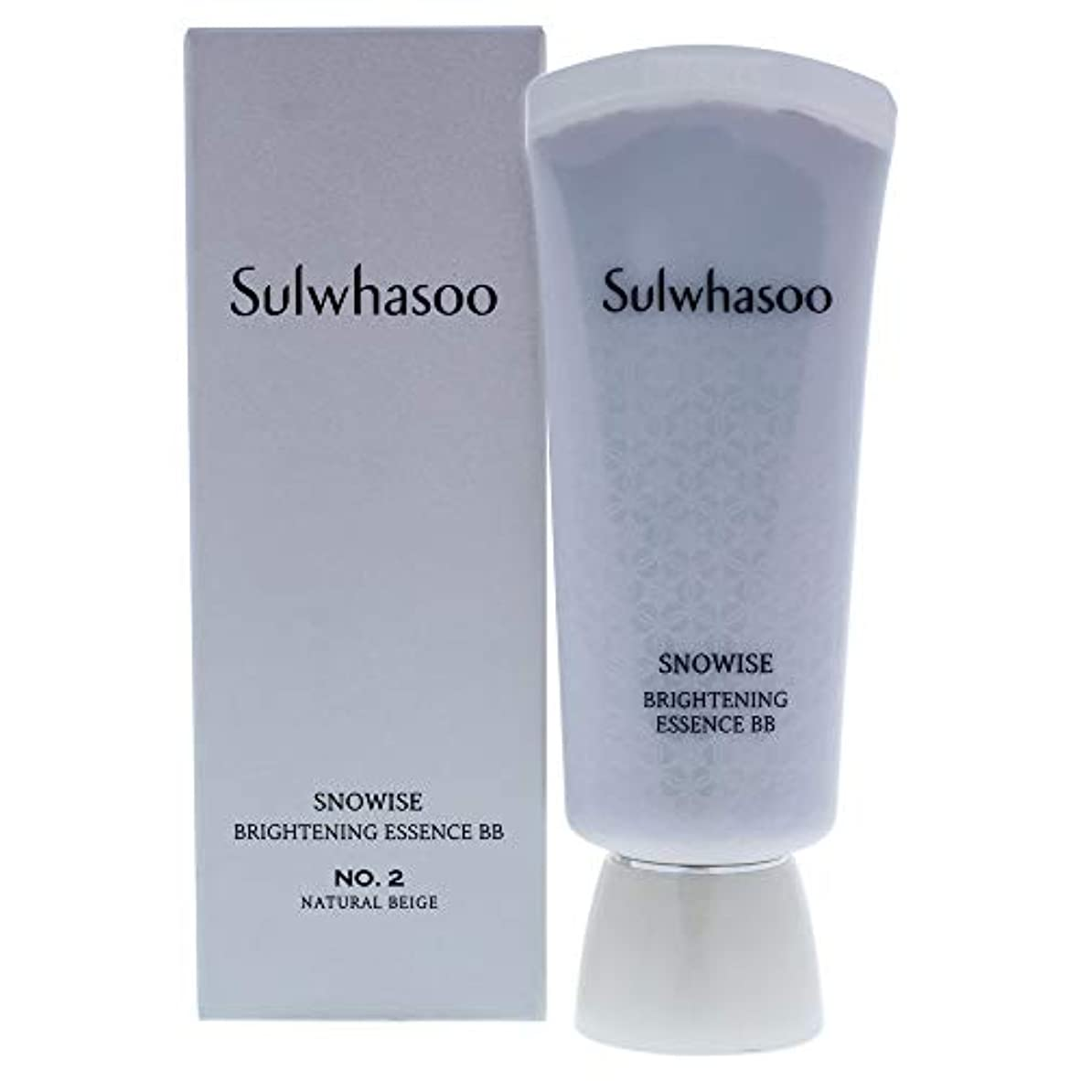 安全性収入汚染Snowise Brightening Essence BB SPF 50-02 Natural Beige