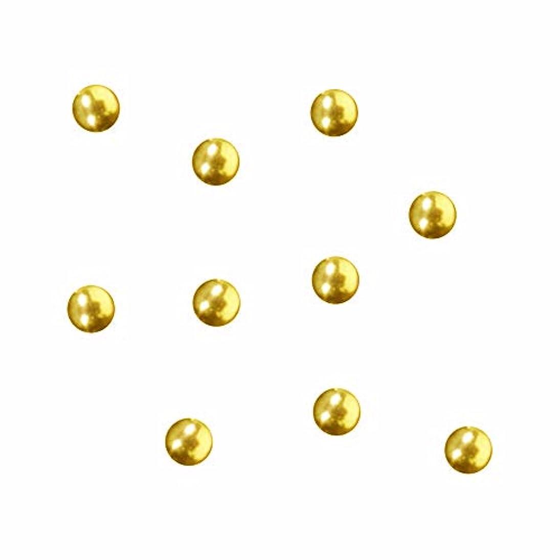 感じつづり倒産SWAROVSKI (スワロフスキー) ラウンドメタル ゴールド 2.5mm 50P