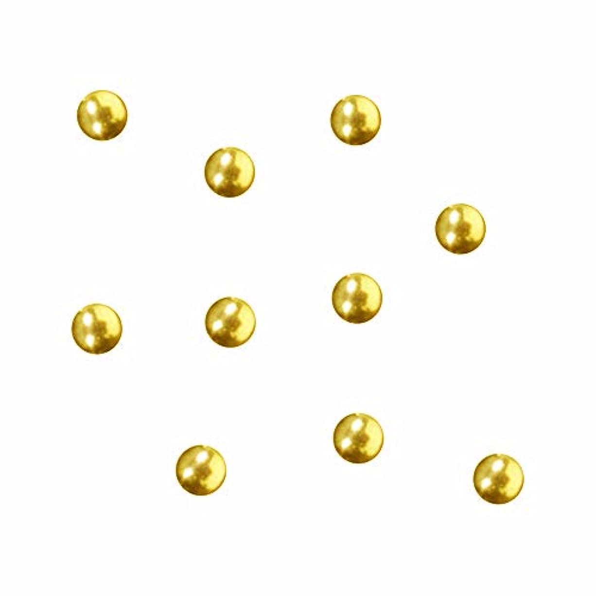 連続的崇拝する風刺SWAROVSKI (スワロフスキー) ラウンドメタル ゴールド 2.5mm 50P
