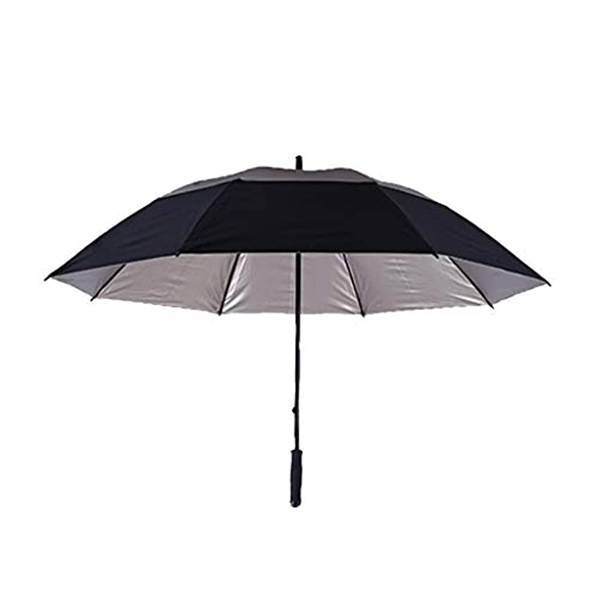マキシム半導体スイス人晴れの傘、パーソナライズドモザイク、屋外の傘の頭、すべてのガラス繊維傘のストレートロッドの傘。