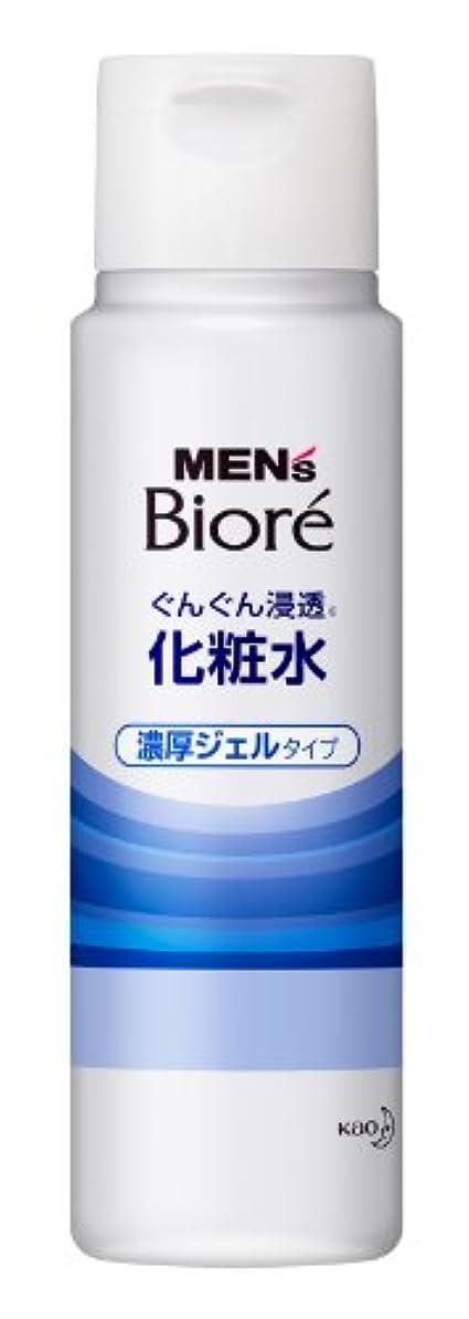 順応性のあるマンモスセンブランスメンズビオレ 浸透化粧水 濃厚ジェルタイプ 180ml