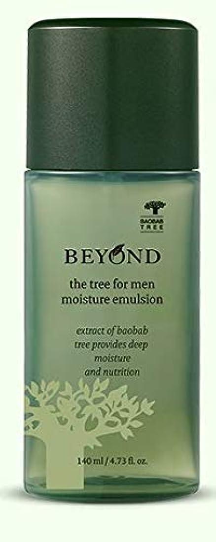 聞きます救出付ける[ビヨンド] BEYOND [ザツリーフォーメン モイスチャーエマルジョン 140ml] The Tree For Men Moisture Emulsion 140ml [海外直送品]