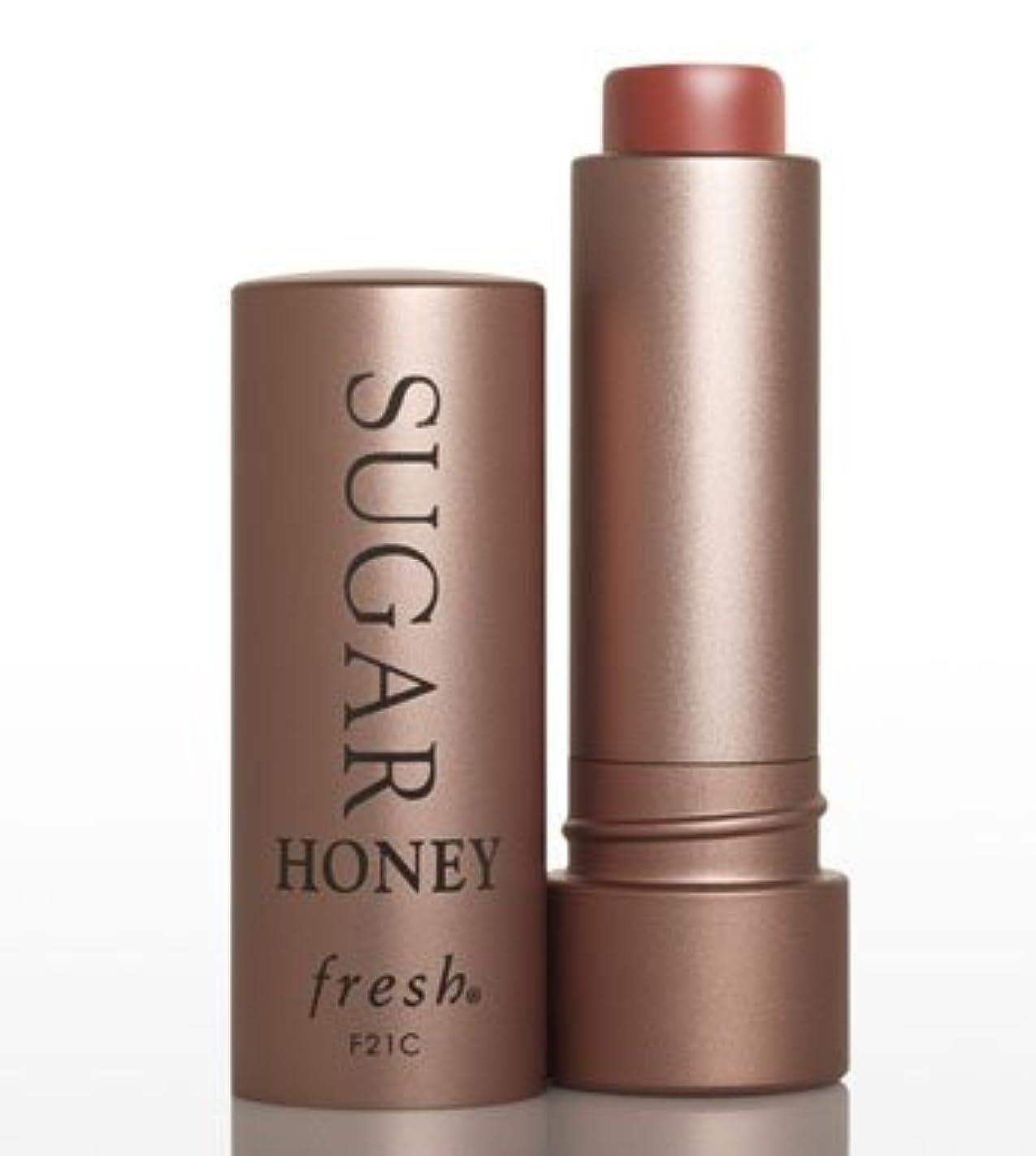 切り下げ添加賞賛するFresh SUGAR Honey TINTED LIP TREATMENT SPF15(フレッシュ シュガー ハニー ティンテッド リップ トリートメント SPF15) 0.15 oz (4.3g)