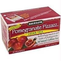 Bigelow B28250 Bigelow Pomegranate Pizzazz Herbal Tea -6x20 Bag