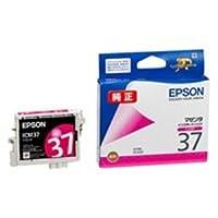 (業務用4セット) EPSON エプソン インクカートリッジ 純正 【ICM37】 マゼンタ ds-1463121