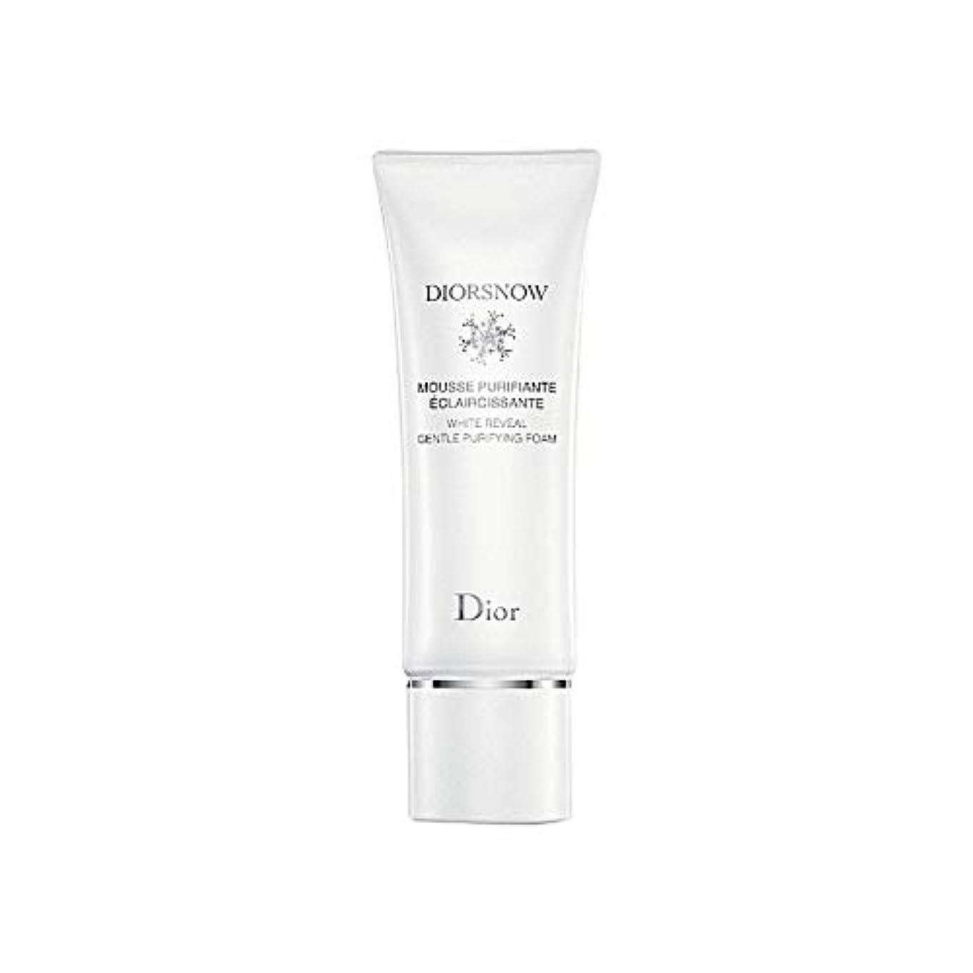 すべきしかしながらの面では[Dior] ディオールディオールスノー浄化フォーム - Dior Diorsnow Purifying Foam [並行輸入品]