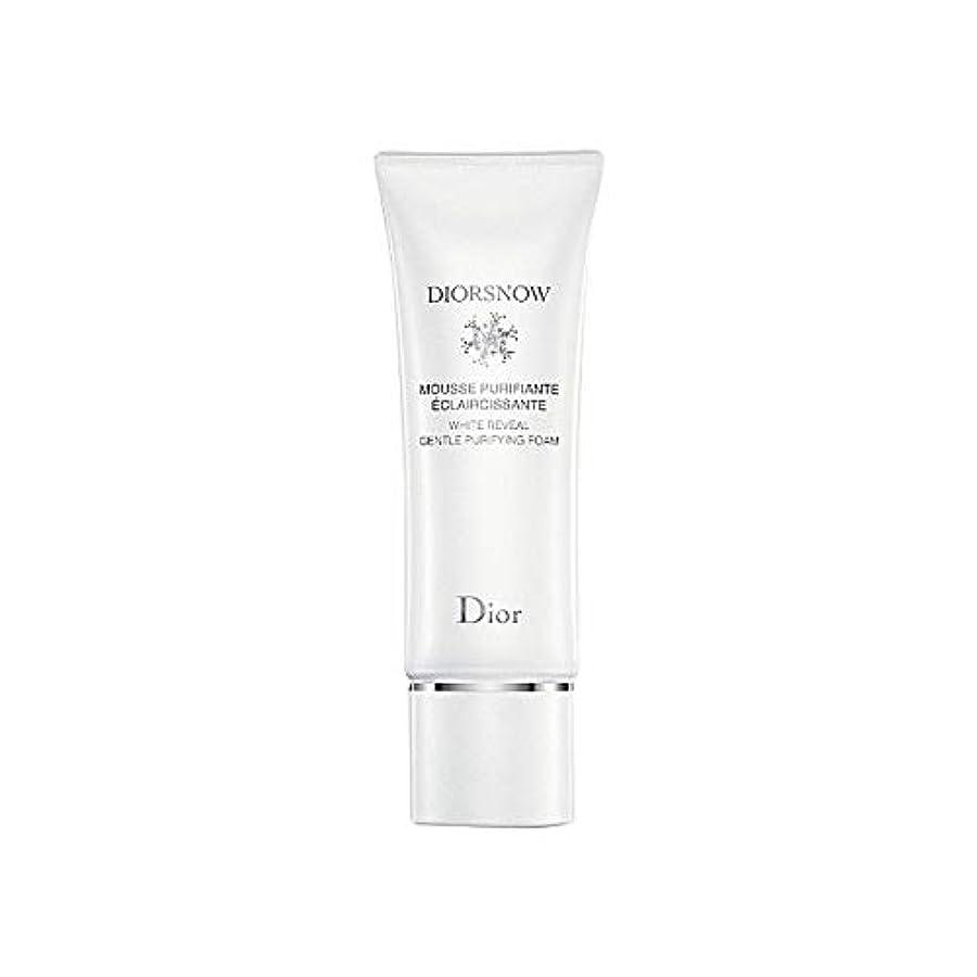 オーバードローマカダム送信する[Dior] ディオールディオールスノー浄化フォーム - Dior Diorsnow Purifying Foam [並行輸入品]