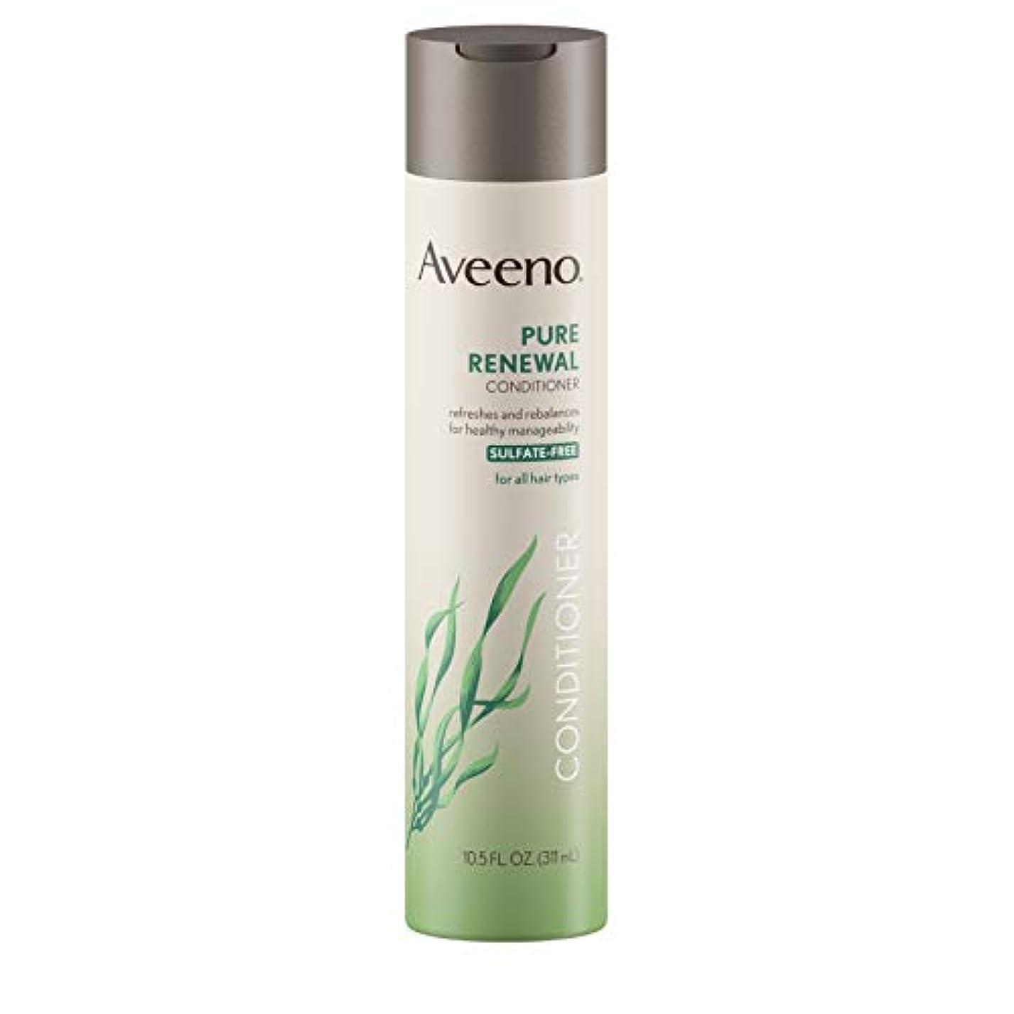 六月履歴書印象的なAveeno Pure Renewal Conditioner 310 ml (Sulfate-Free) (並行輸入品)
