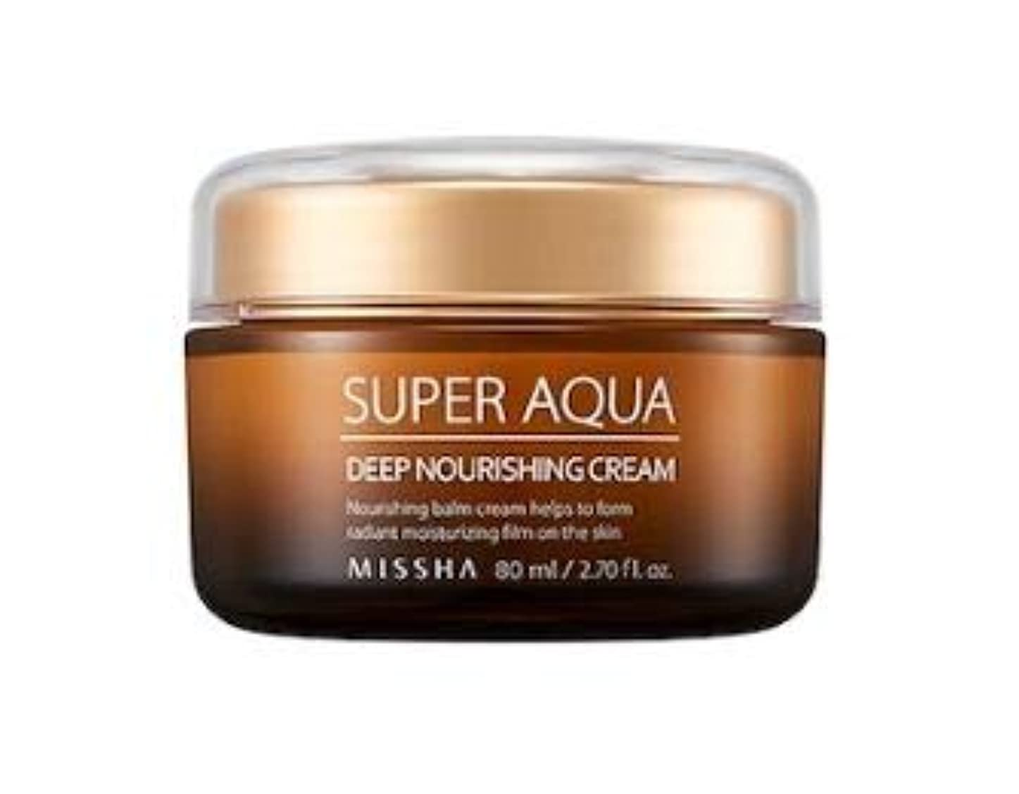 単語偽戸棚MISSHA Super Aqua Ultra Water Full Deep Nourishing Cream ミシャ スーパーアクアウルトラウォーターフルディープナリシングクリーム [並行輸入品]