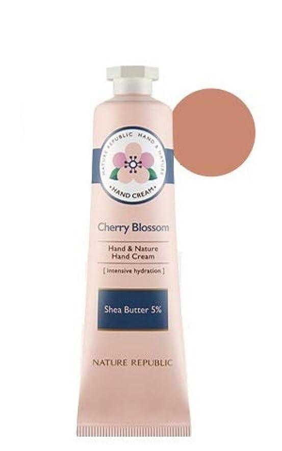 スマートガイドライン前文[リニューアル]ネイチャーリパブリック NATURE REPUBLIC ハンドアンドネイチャーハンドクリーム Hand & Nature Hand Cream (# CHERRY BLOSSOM) [並行輸入品]
