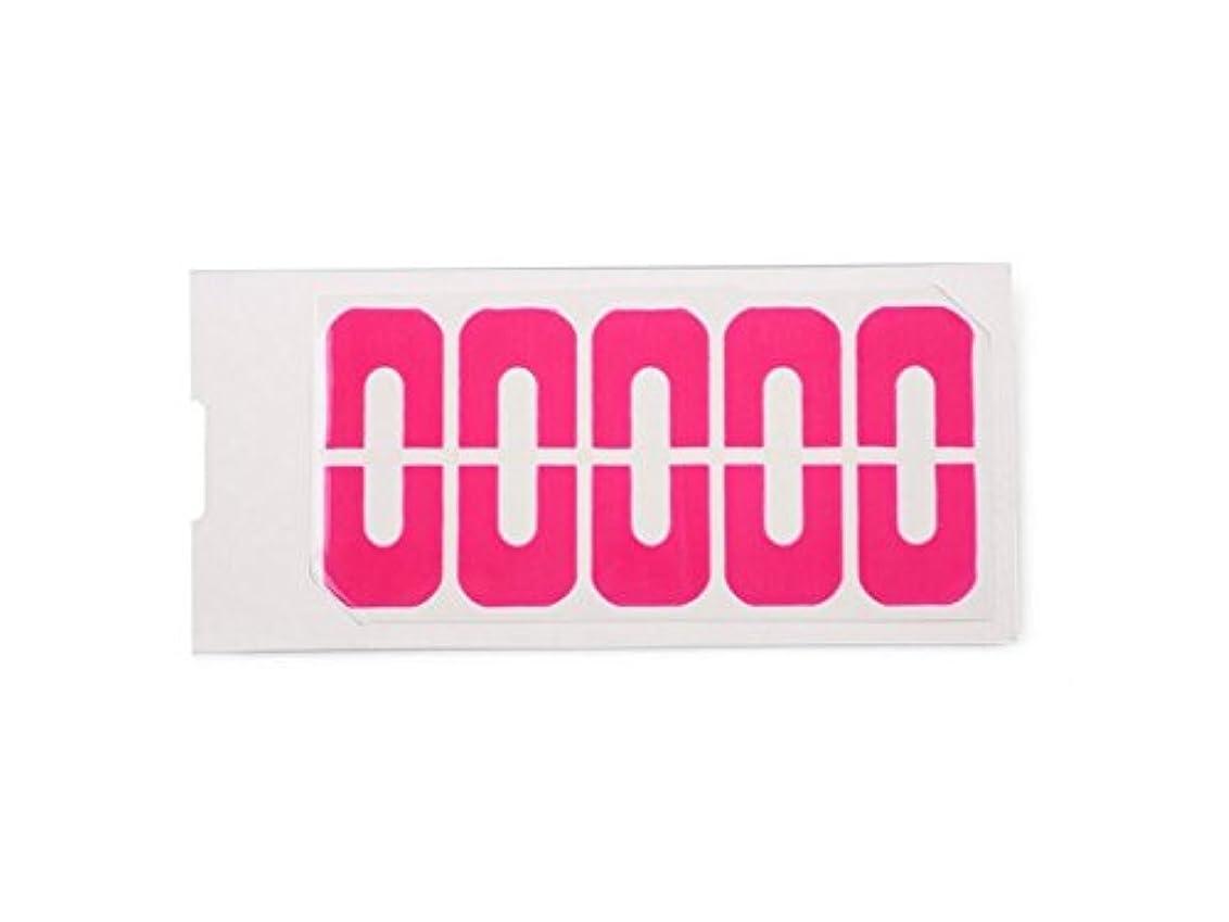 あごひげシャワー立法Osize 3Dクリスタルラインストーンキラキラネイルアートデコレーション合金ネイルアートチップDIYネイルアートデコレーションアクセサリー(ピンク)