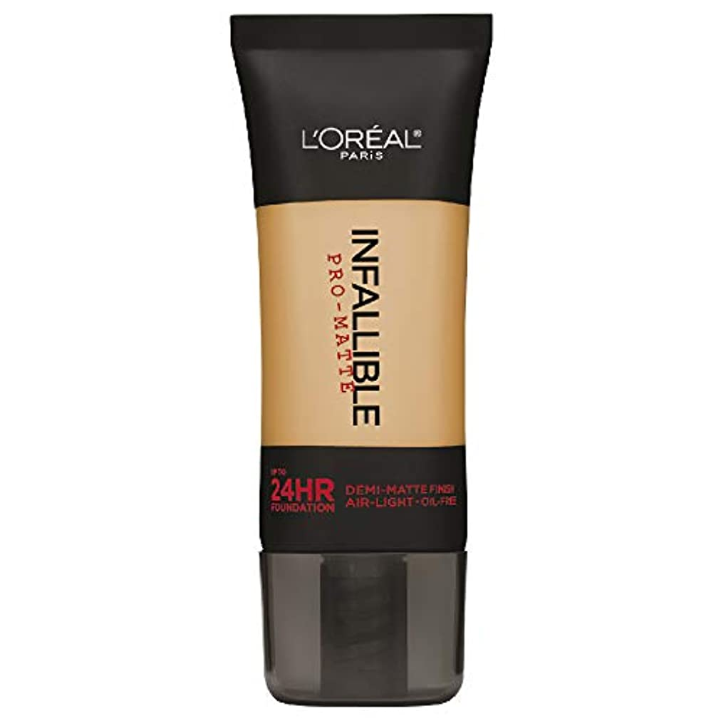 突破口美容師五月L'Oreal Paris Infallible Pro-Matte Foundation Makeup, 106 Sun Beige, 1 fl. oz[並行輸入品]
