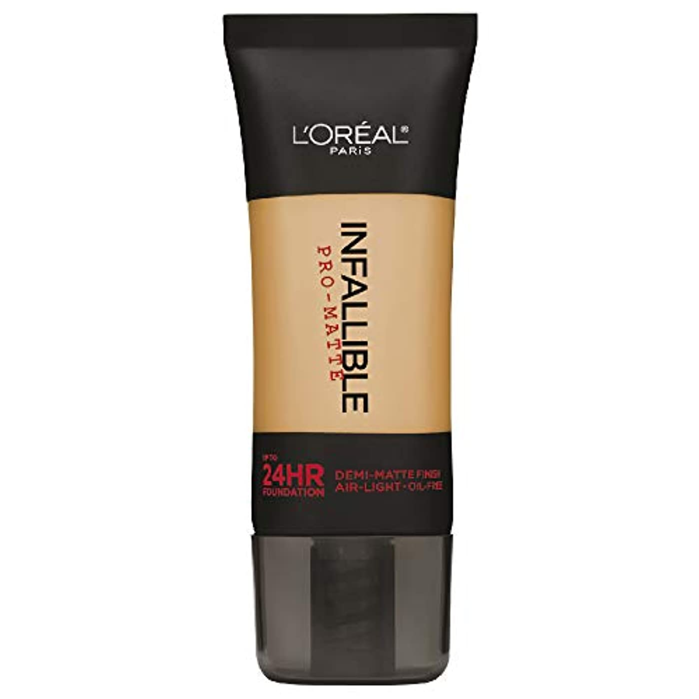 落ち込んでいる悪い内部L'Oreal Paris Infallible Pro-Matte Foundation Makeup, 106 Sun Beige, 1 fl. oz[並行輸入品]