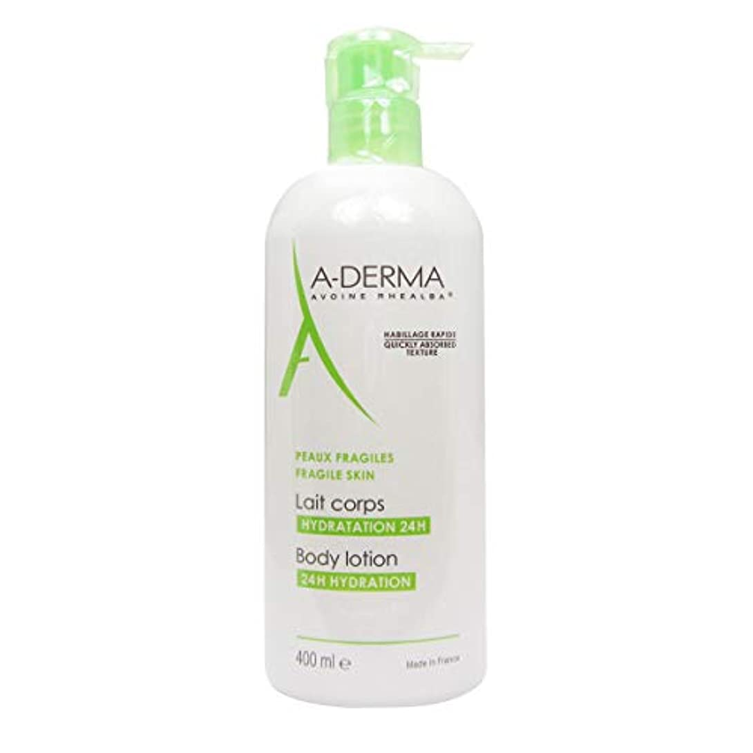 A-derma Moisturizing Body Milk 400ml [並行輸入品]