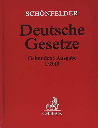 Download Deutsche Gesetze Gebundene Ausgabe I/2019: Rechtsstand: 15. Januar 2019 3406732224