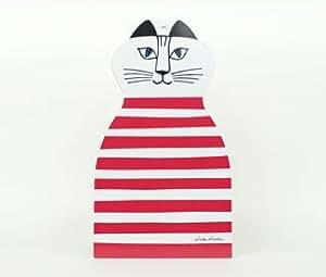 リサラーソンキッチンウェア/トロール 赤(カッティングボード/まな板) Opto design(オプトデザイン)【雑貨 北欧 まな板 木製 Lisa Larson グッズ】