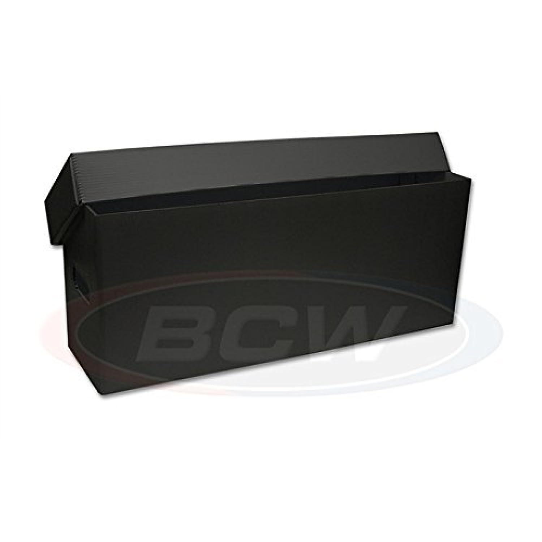 Long Comic Storage Box - Plastic -Black by BCW