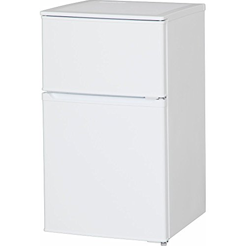 アイリスオーヤマ 冷蔵庫 90L 2ドア 直冷式 冷凍冷蔵庫 ...