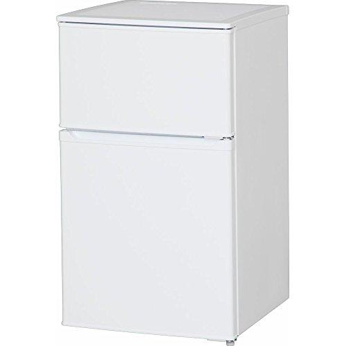 アイリスオーヤマ 冷蔵庫 90L 2ドア 直冷式 冷凍冷蔵庫...