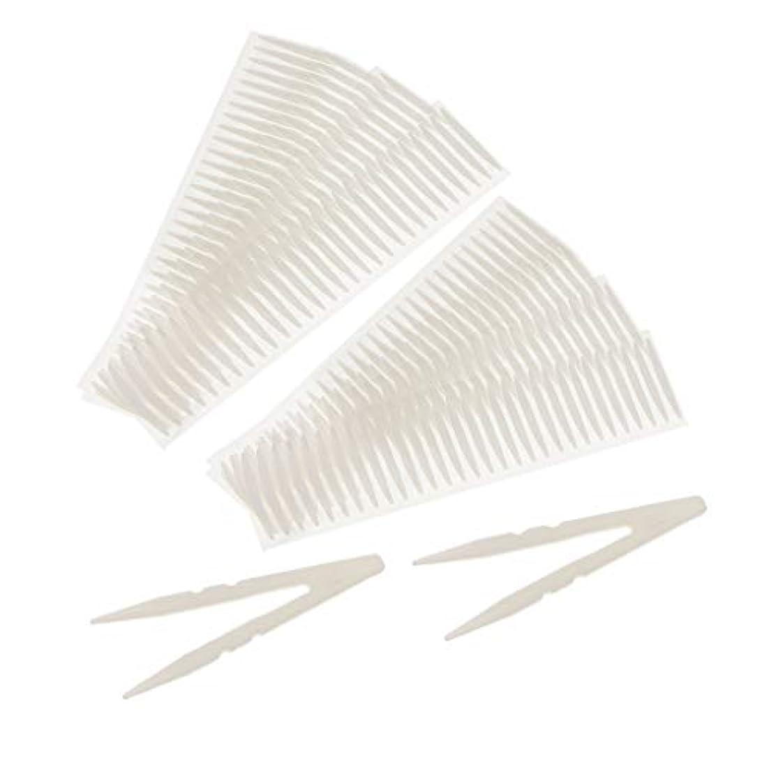 スノーケル清める怒り粘着性 両面粘着式 二重まぶたテープ 通気性 目に見えない 防水性 耐汗性 2サイズ選べ - ラウンドヘッド
