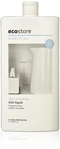 ecostore エコストア ディッシュウォッシュリキッド 【無香料/ウルトラセンシティブ】 1L 食器洗い用 洗剤