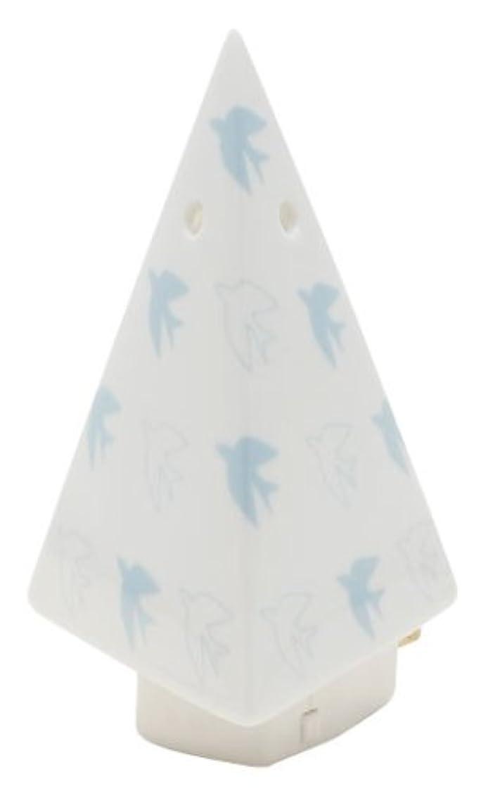 ステープル思われる牛フリート flapflap 三角ミニライト ブルー