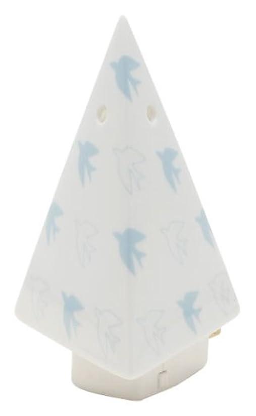 濃度希少性捧げるフリート flapflap 三角ミニライト ブルー