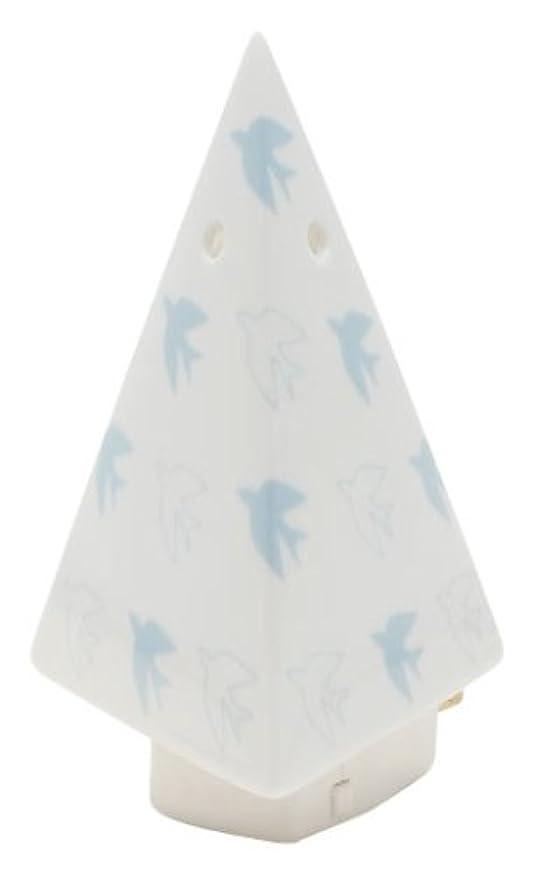 ライド考案する主張フリート flapflap 三角ミニライト ブルー
