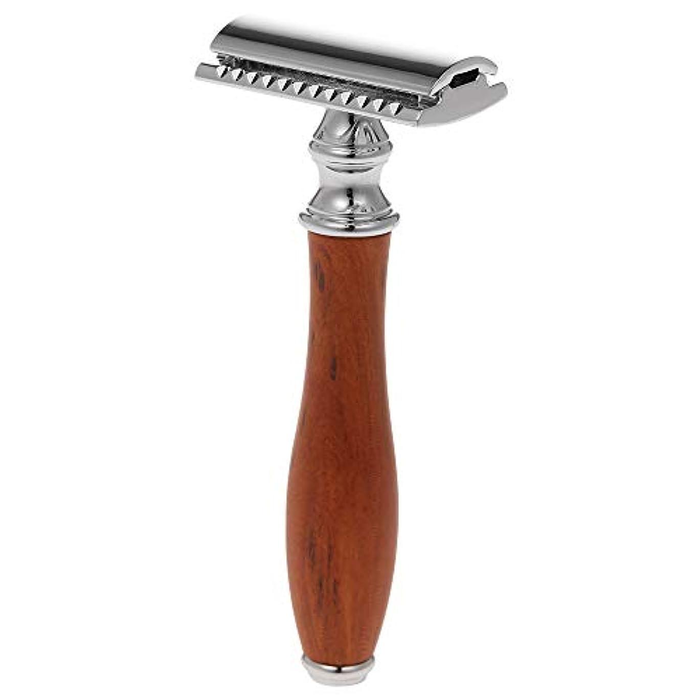ラウンジあご辞任するDecdeal 剃毛かみそり 安全 かみそり 剃毛ツール 両刃 カミソリ