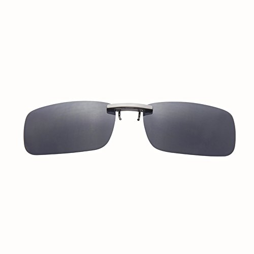 Leetaker クリップサングラス 偏光クリップ眼鏡 釣り 運転 昼夜兼用 UVカットメガネ