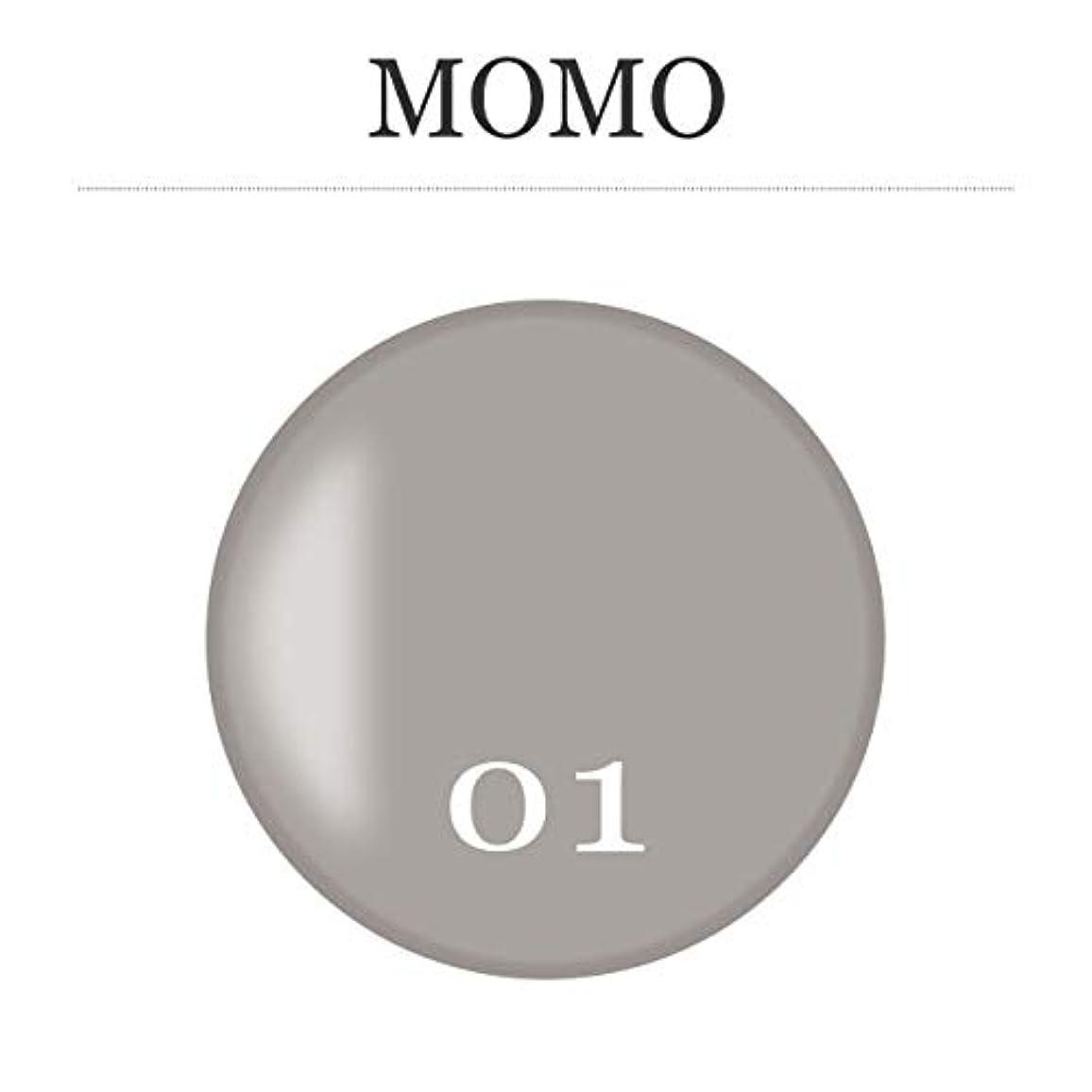 グラス剃る濃度カラージェル MOMO-01 by nail for all