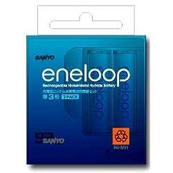 SANYO eneloop ニッケル水素充電器 単3計2個セット N-MDR02S