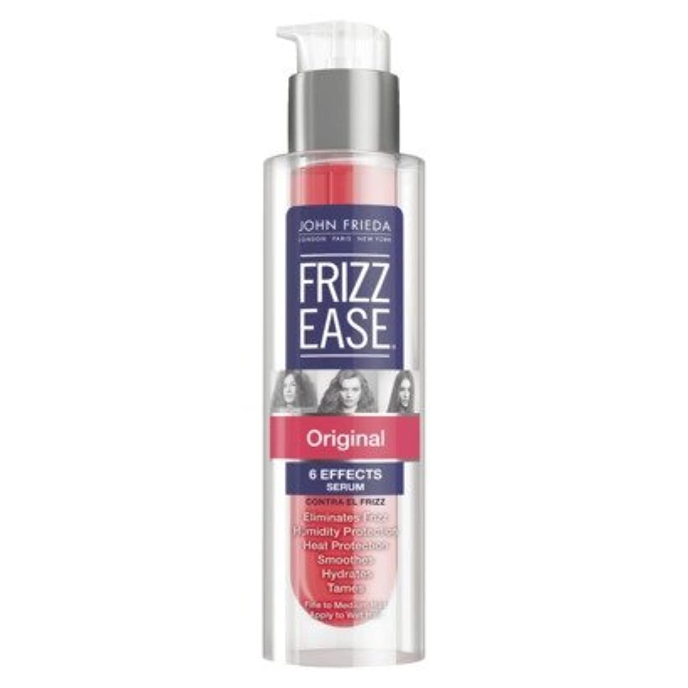 とは異なり予感ワイヤーJohn Frieda Frizz-Ease Hair Serum, Original Formula - 1.69 fl oz (49ml)