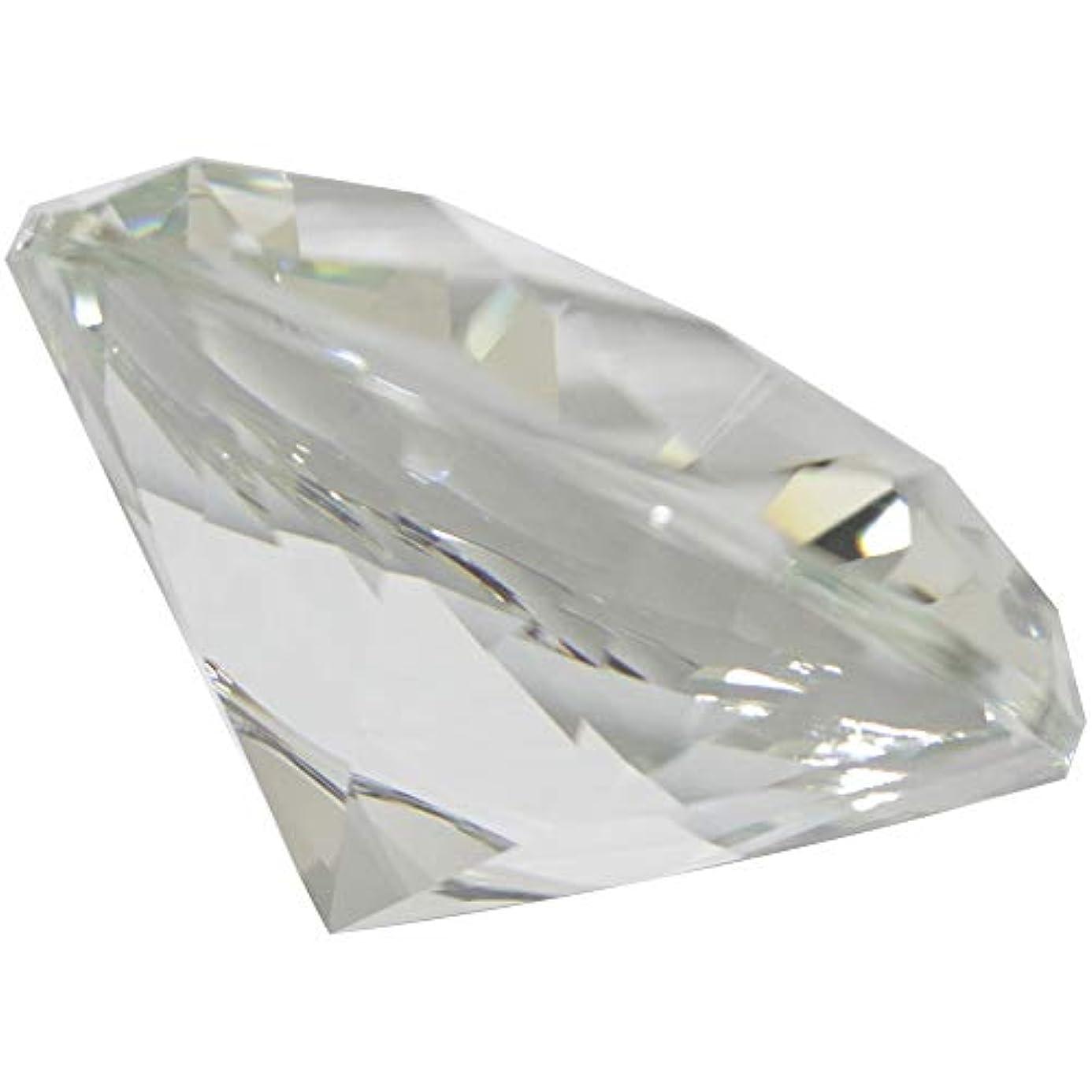 日帰り旅行に創造偏心MATIERE ダイヤモンド型ガラスオブジェ100m