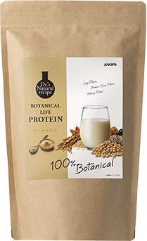 アンファー (ANGFA) ボタニカルライフ プロテイン (きな粉味) ソイプロテイン ダイエット おきかえ 美容 女性用 [ 無添加 / 植物性 / 低糖質 / 低脂質 / 低カロリー /20種 スーパーフード / 大豆 ソイ ] 375g