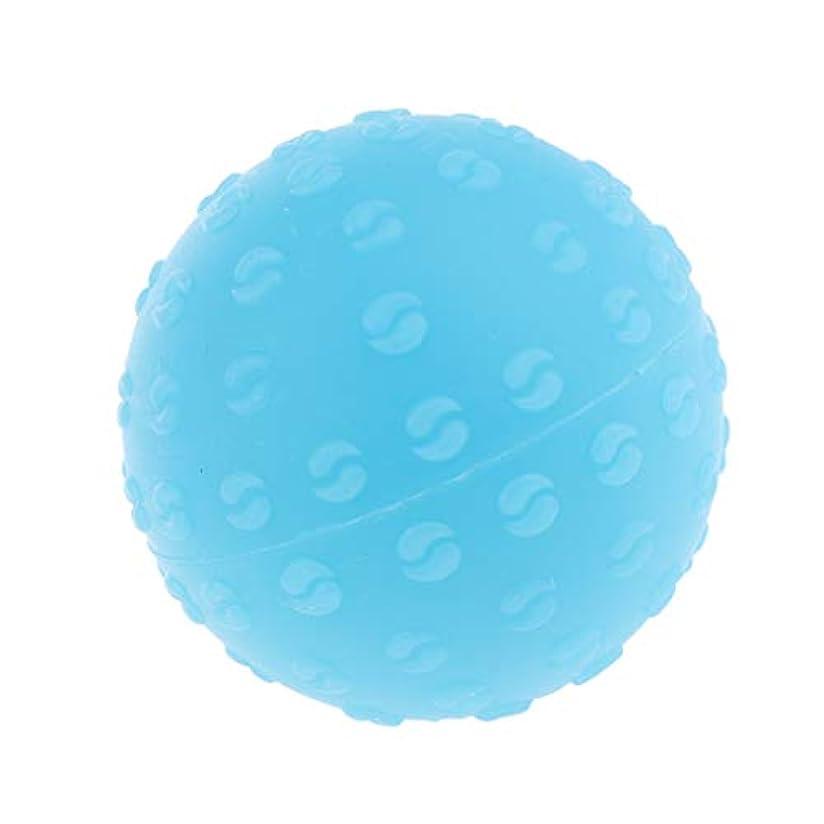 擬人フリーススロープ全6色 マッサージボール 指圧ボール シリコーン トリガーポイント 足底筋膜炎 ヨガ 耐油性 快適 - 青, 説明のとおり