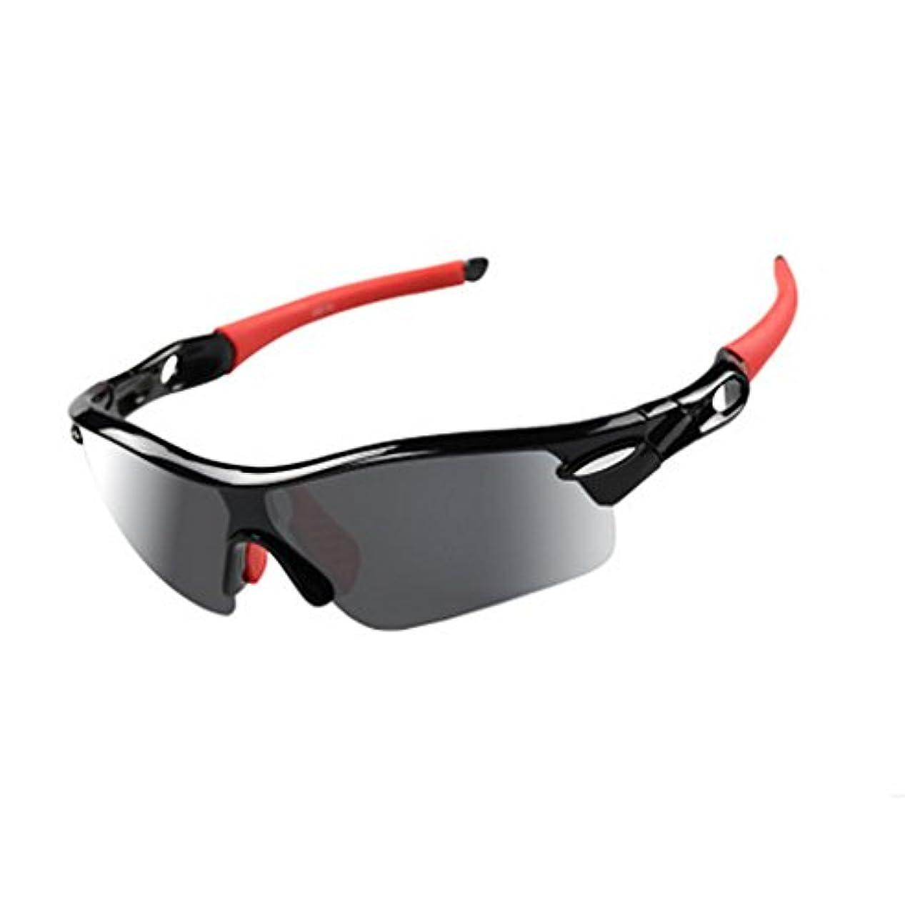 刻むラッドヤードキップリング民間Warm time(ウォームタイム)スポーツサングラス 偏光レンズ 交換レンズ5枚 インナーフレーム付き 着脱可能 スポーツ等に最適 UV400 紫外線99.9%カット サングラス