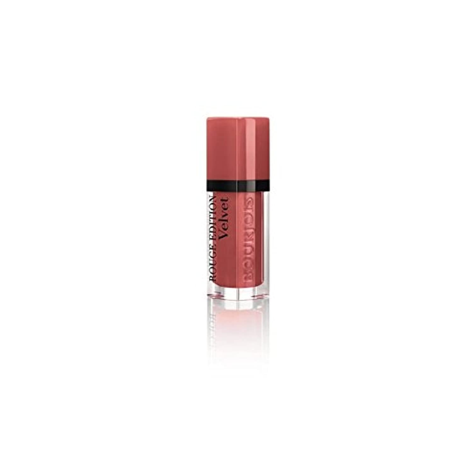 マウスピース頭皮肉なBourjois Rouge Edition Velvet Lipstick Beau Brun T12 - ブルジョワルージュ版ベルベットの口紅ボウ?ブラン 12 [並行輸入品]