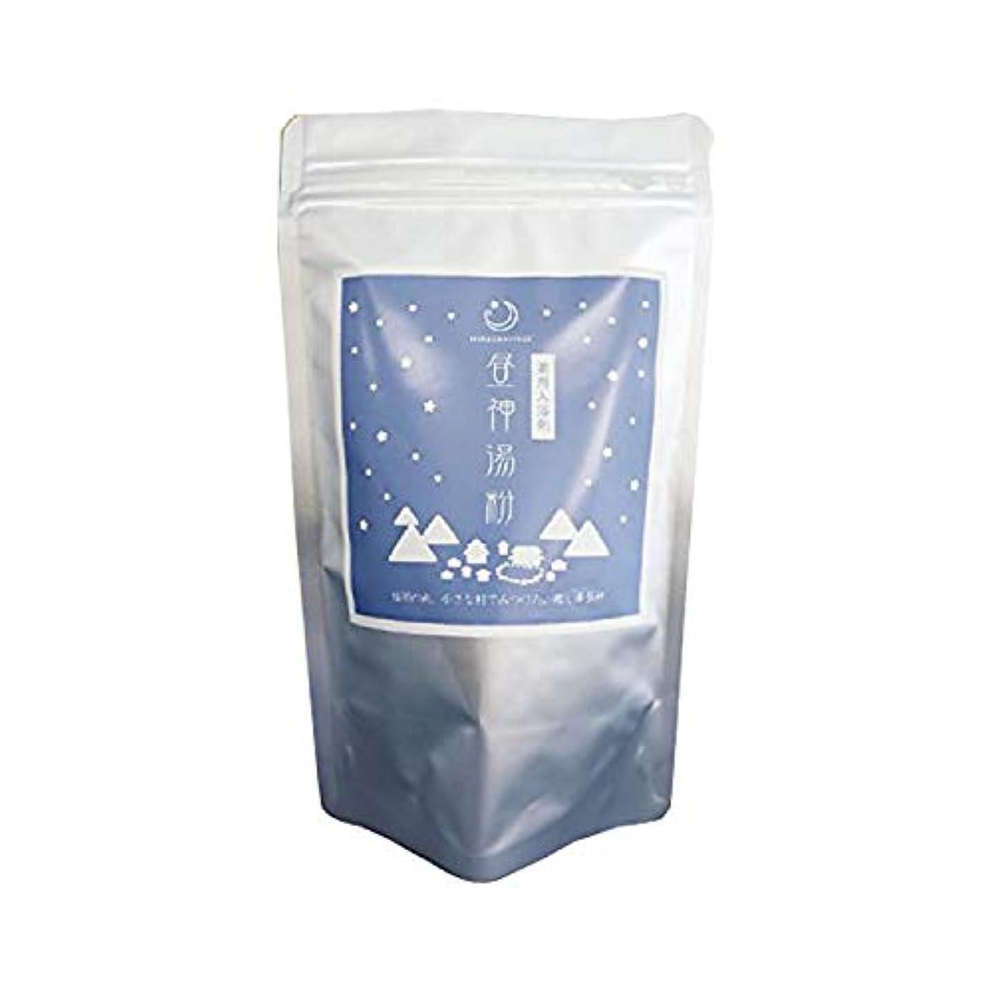 届ける解凍する、雪解け、霜解けバッジ【詰め替え用】昼神の湯 薬用入浴剤