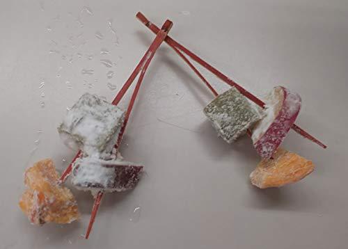 三色揚げ松葉 ( 柿 ) 20串(串約10g)×24P 冷凍 揚物 業務用
