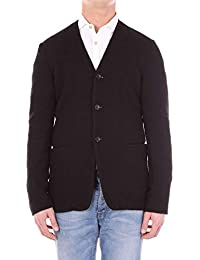 Armani Collezioni メンズ 6YMG06MM13ZBLACK ブラック ウール ウールセーター