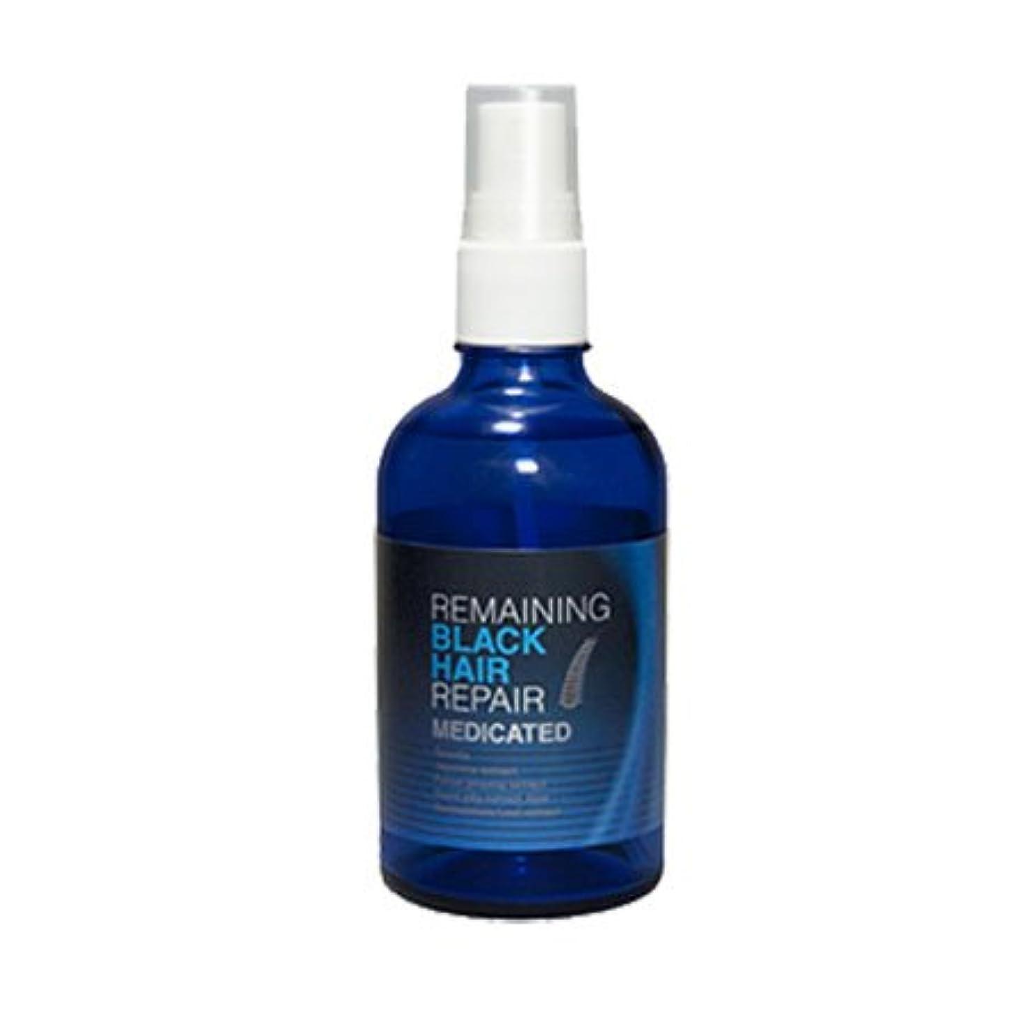 オプショナル感情のホールリメイニング ブラックヘアリペア 100ml (旧商品名:リターンズブラック ヘアリペア)
