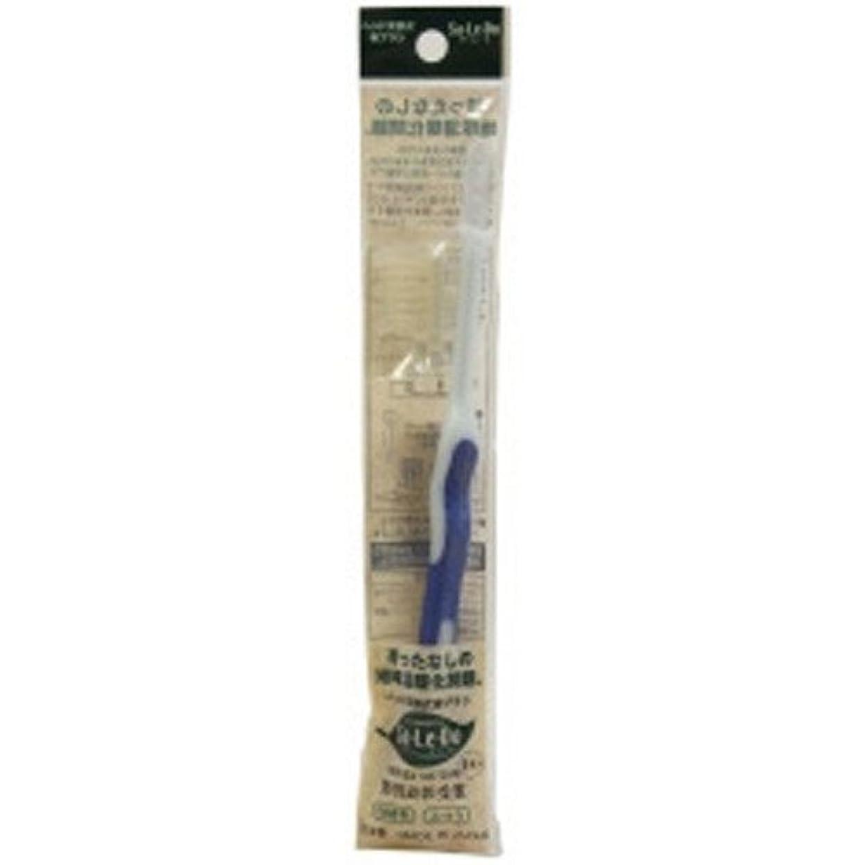 区画スカープ簡単なサレド ヘッド交換式歯ブラシ お試しセット レギュラーヘッド ブルー