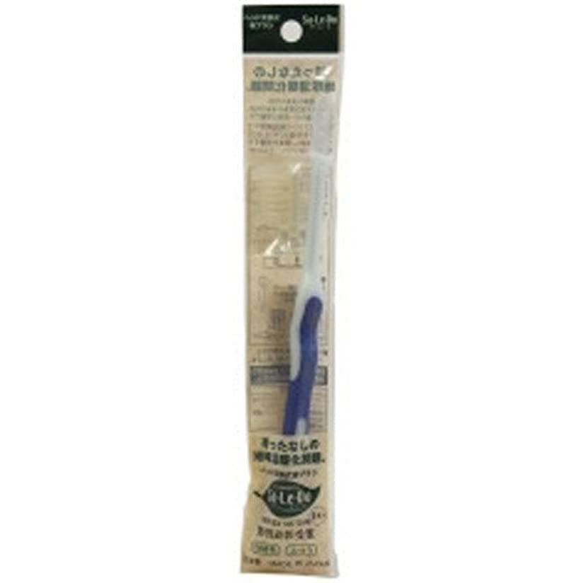 スーダン大いにまばたきサレド ヘッド交換式歯ブラシ お試しセット レギュラーヘッド ブルー