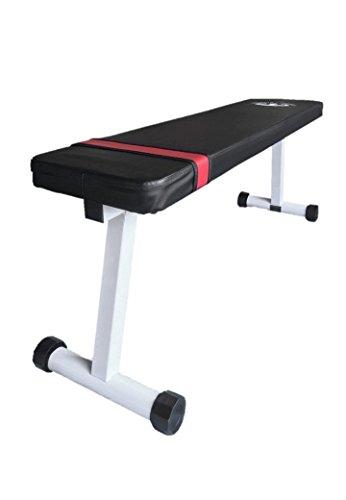 (マッスルプロジェクト) トレーニングベンチ フラットベンチ (耐荷重 200kg) MP-TB01
