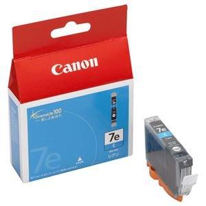 (まとめ) キヤノン Canon インクタンク BCI-7eC シアン 0365B001 1個 【×4セット】 [簡易パッケージ品]