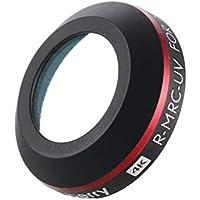 DJI Proのプラチナドローンカメラの偏光レンズ部品のための超軽量ミニ調整可能なUVレンズフィルター(黒)