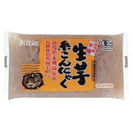 有機 生芋糸こんにゃく (250g) 【創健社】
